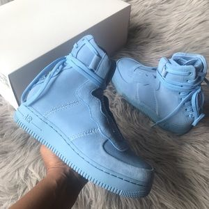 Nike Shoes - Nike Air Force 1 rebel xx women's size 5.5 blue
